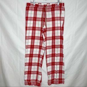 Ugg Red White Plaid PJ Pants